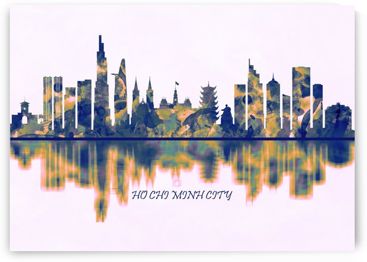 Ho Chi Minh City Skyline by Towseef Dar