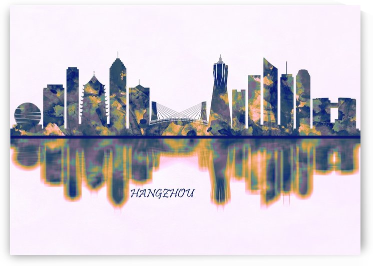 Hangzhou Skyline by Towseef Dar
