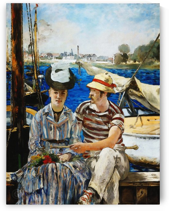 Argenteuil by Edouard Manet  by Classic Painting
