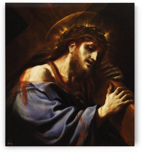 Cristo con la Cruz a cuestas by Luca Giordano  by Classic Painting