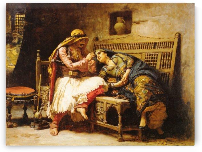 Queen Of The Brigands by Frederick Arthur Bridgman