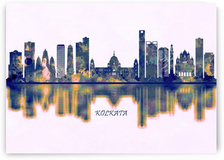 Kolkata Skyline by Towseef Dar