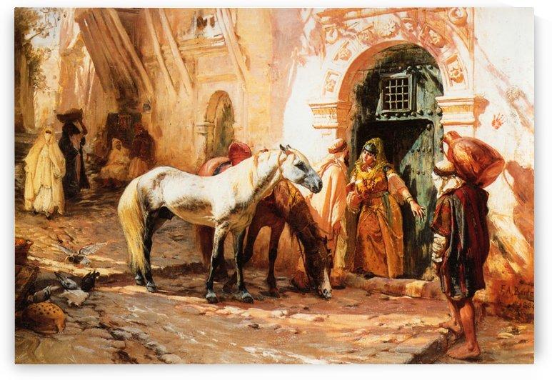 Scene in Morroco by Frederick Arthur Bridgman