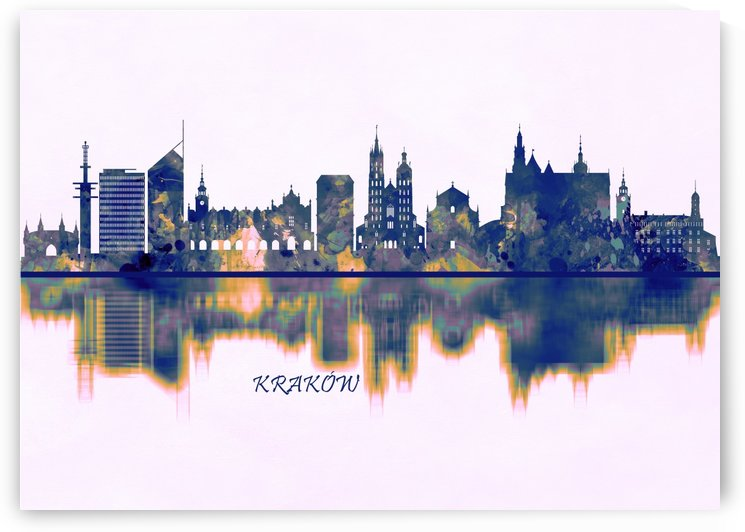 Krakow Skyline by Towseef Dar