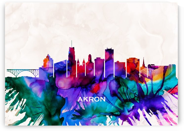 Akron Skyline by Towseef