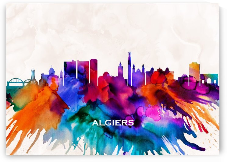 Algiers Skyline by Towseef