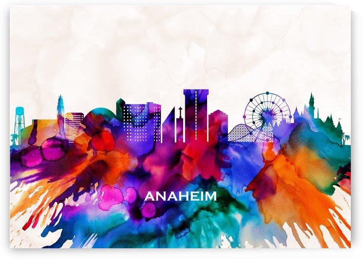 Anaheim Skyline by Towseef Dar