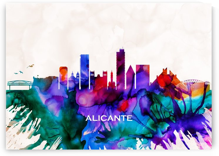 Alicante Skyline by Towseef