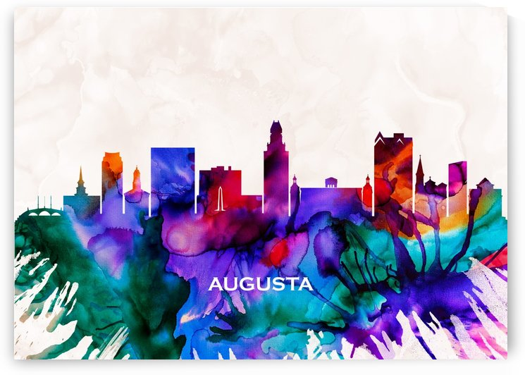 Augusta Skyline by Towseef