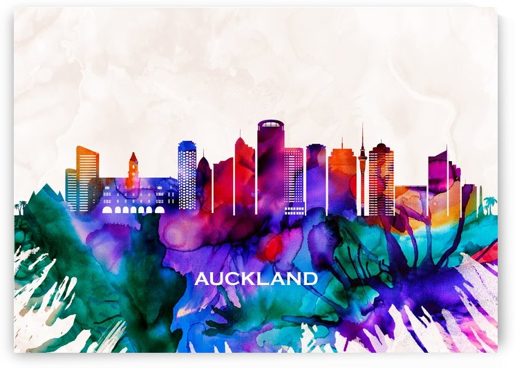 Auckland Skyline by Towseef