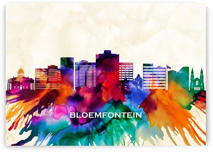 Bloemfontein Skyline by Towseef Dar