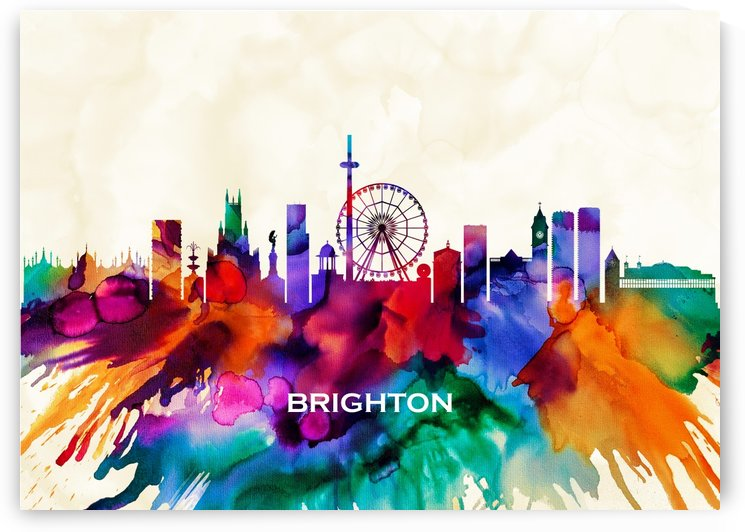 Brighton Skyline by Towseef