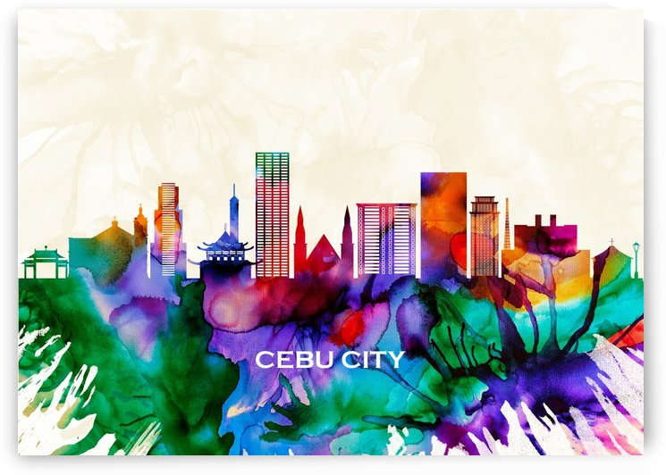 Cebu City Skyline by Towseef