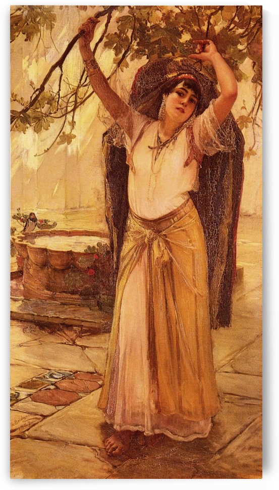 Spanish Lady by Frederick Arthur Bridgman