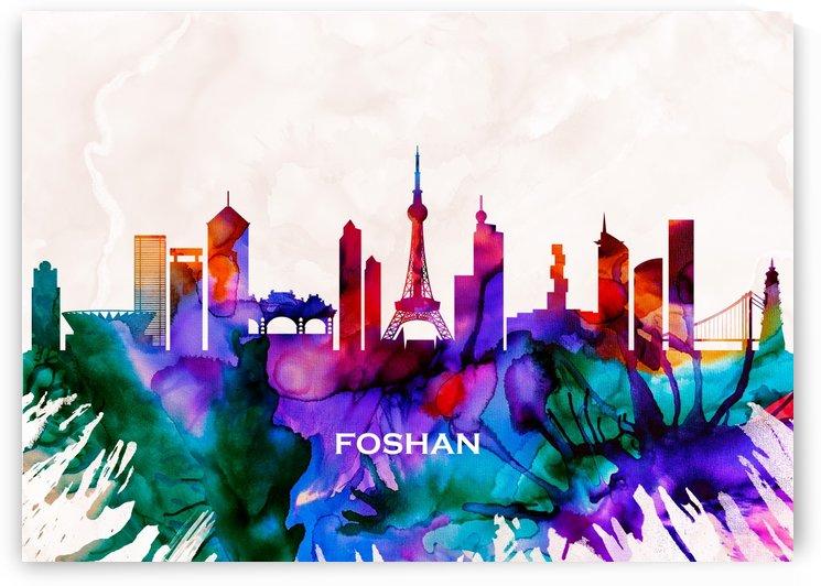 Foshan Skyline by Towseef Dar