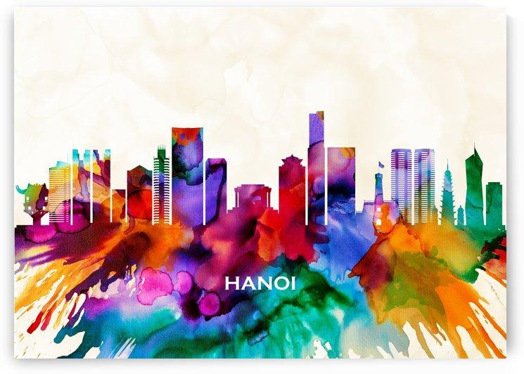 Hanoi Skyline by Towseef