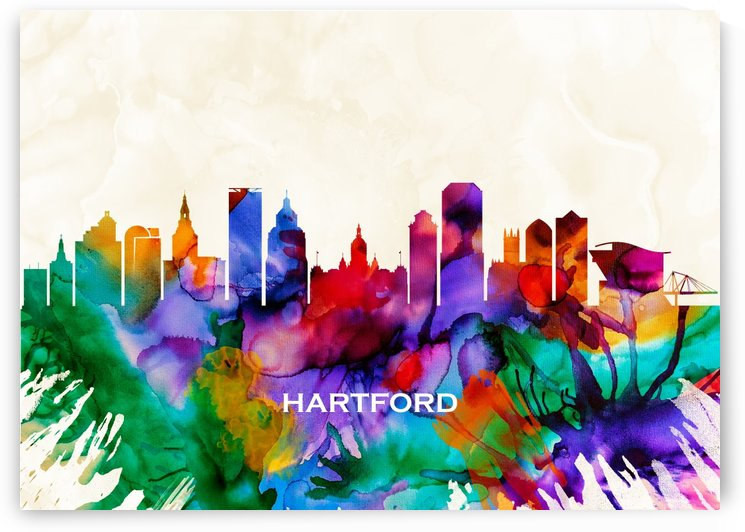 Hartford Skyline by Towseef