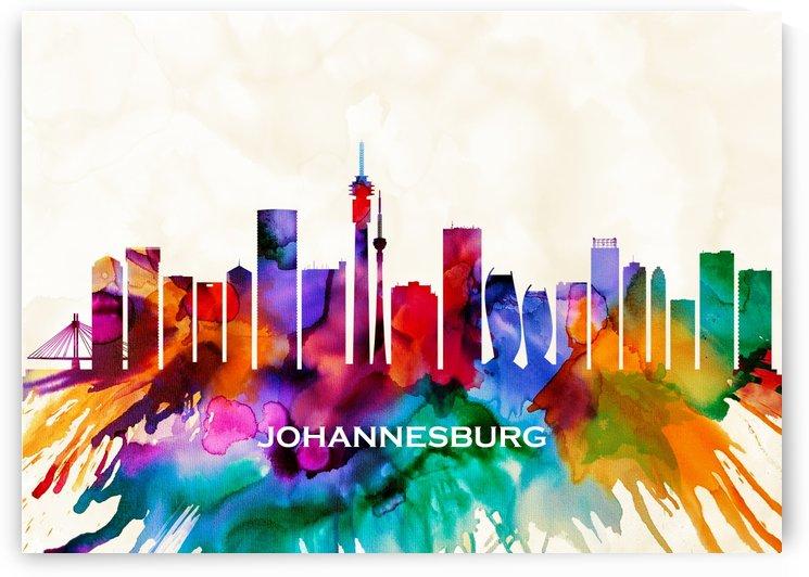 Johannesburg Skyline by Towseef