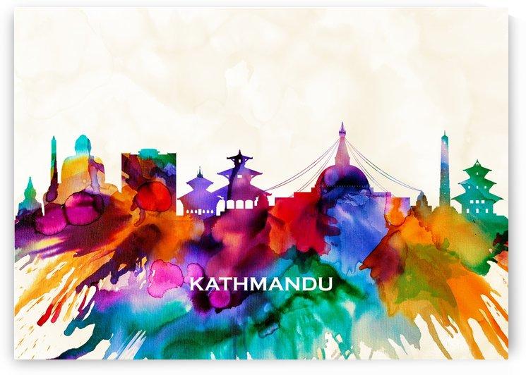 Kathmandu Skyline by Towseef
