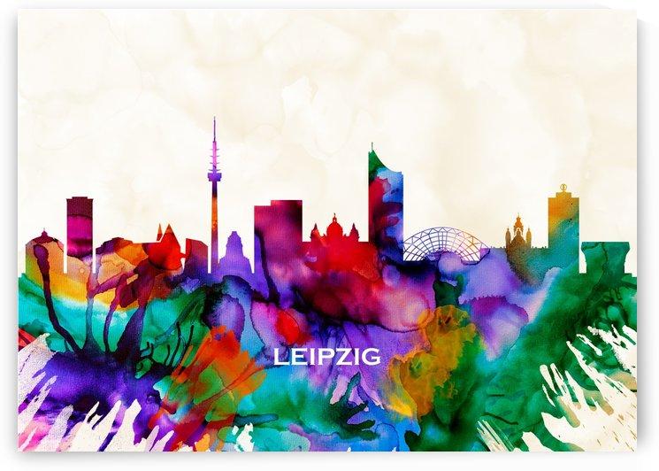 Leipzig Skyline by Towseef