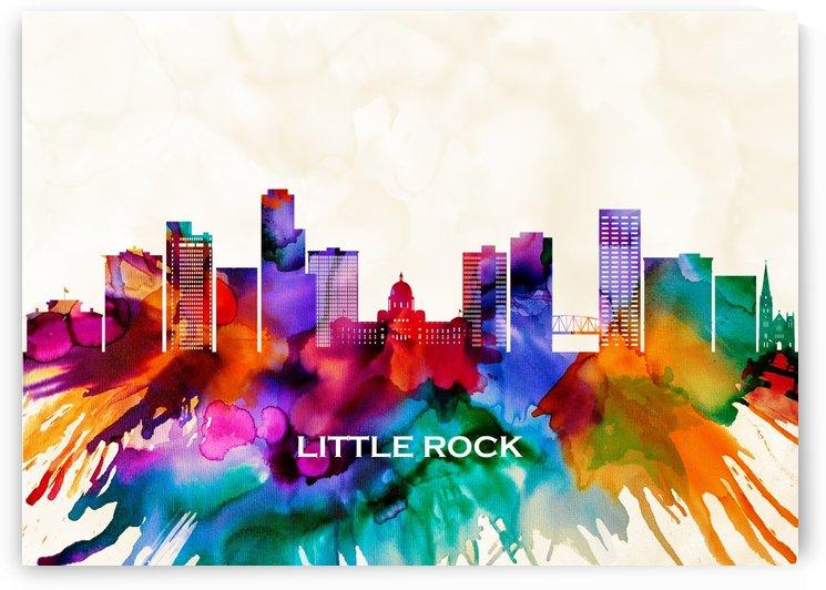 Little Rock Skyline by Towseef Dar