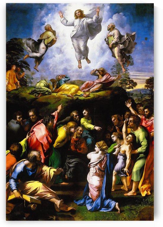 Raffaello Sanzio da Urbino) Raphael (Raffaello Santi – Transfiguration of Christ by Classic Painting