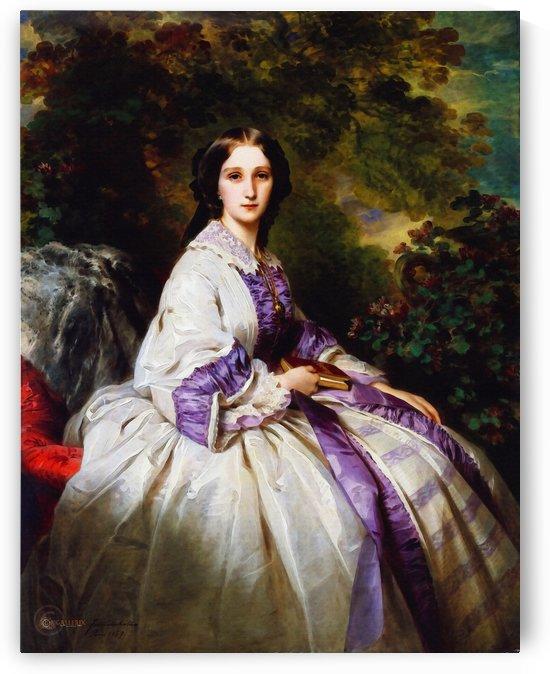 Franz Xavier Winterhalter – Countess Maria Ivanovna Lamsdorff (née Maria Ivanovna Beck, 1835–1866) by Classic Painting