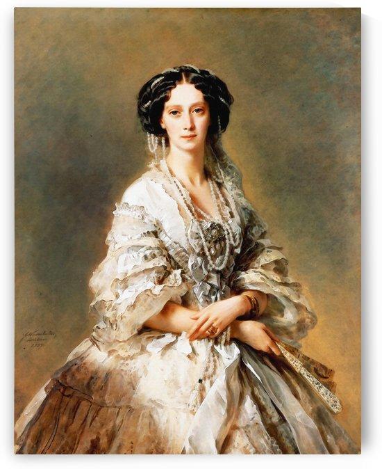 Franz Xavier Winterhalter – The Empress Maria Alexandrovna by Classic Painting