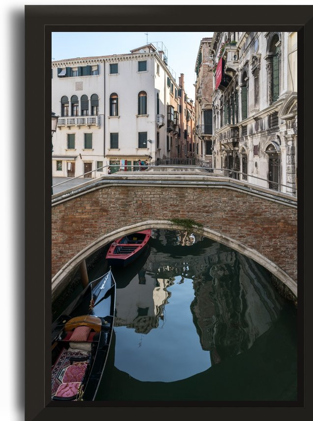 Classic Venetian - Rio Santa Maria Formosa Brick Bridge by GeorgiaM