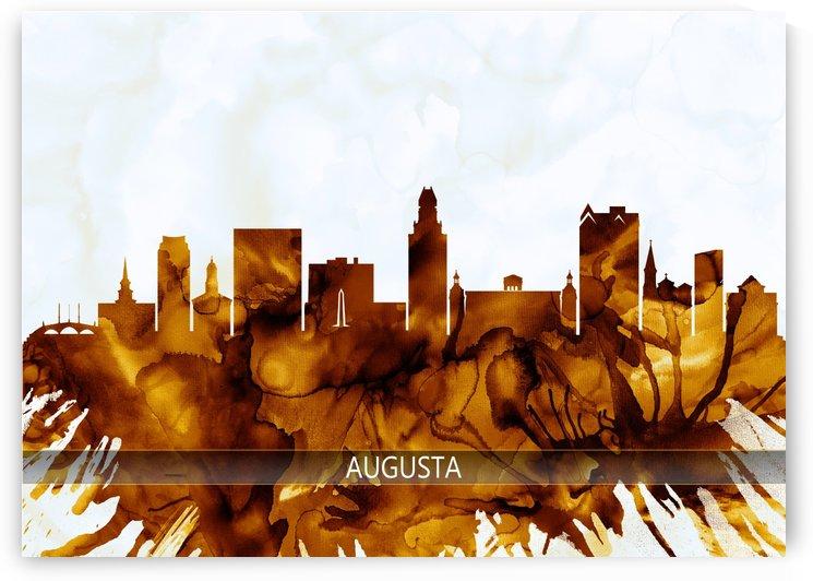 Augusta Georgia Skyline by Towseef