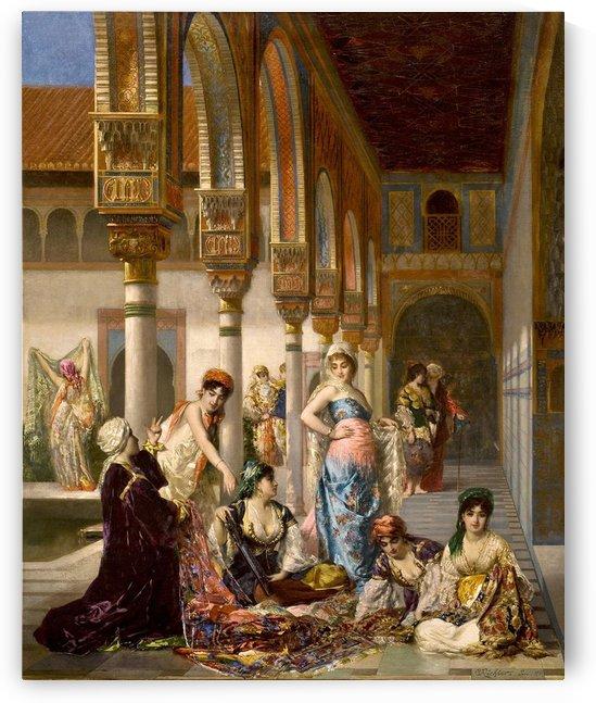 The merchant by Frederick Arthur Bridgman