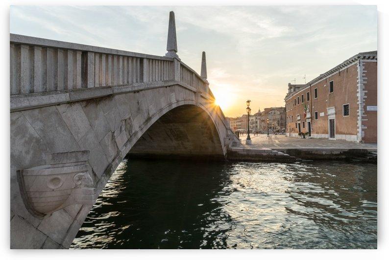 Classic Venetian - Puente Arsenale Bridge Splendid Sunrise by GeorgiaM