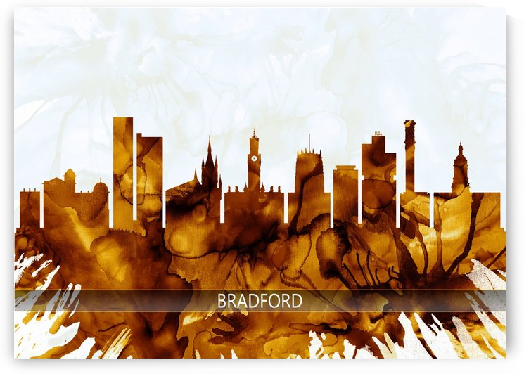 Bradford England Skyline by Towseef