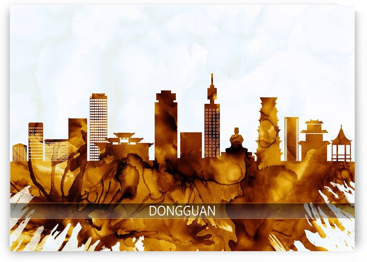 Dongguan China Skyline by Towseef Dar