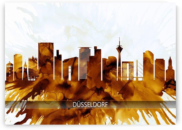 Dusseldorf Germany Skyline by Towseef Dar