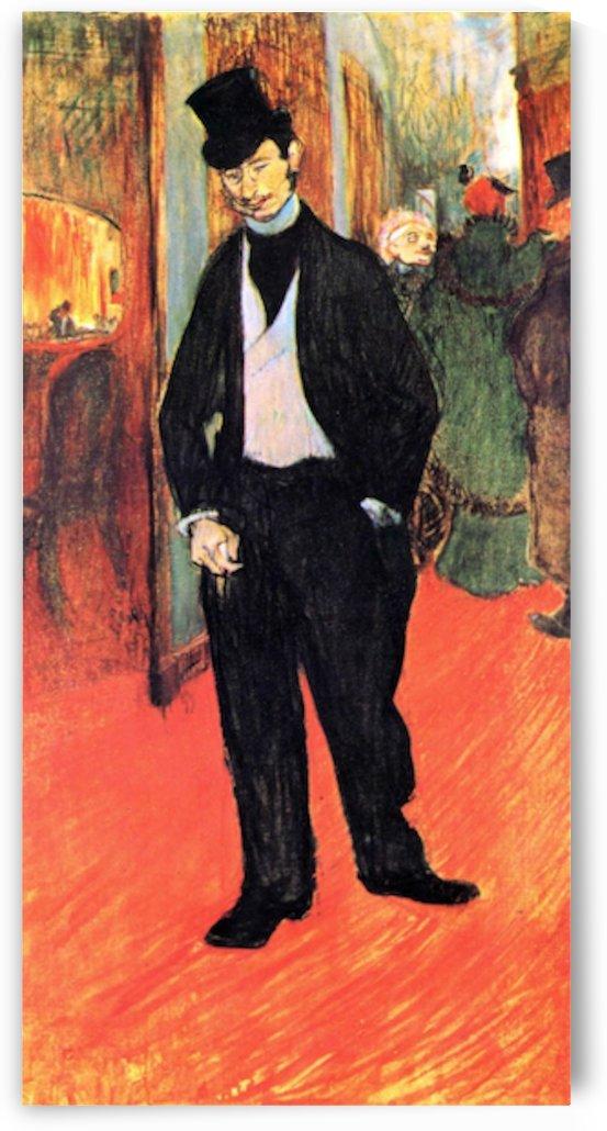 Dr. Tapia de Celeyran by Toulouse-Lautrec by Toulouse-Lautrec