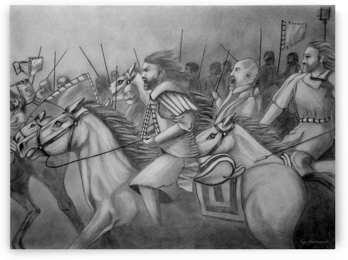 Attack Battle Scene by Faye Anastasopoulou