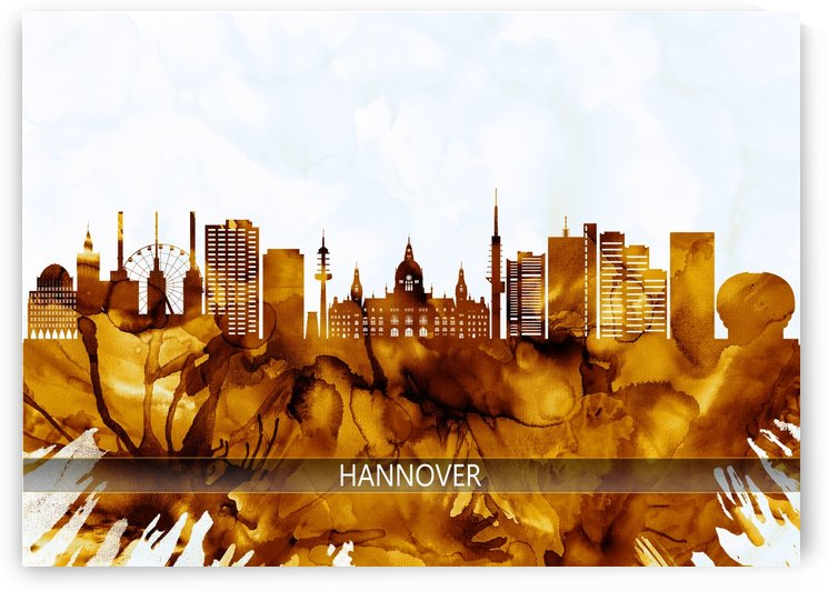 Hanover Germany Skyline by Towseef
