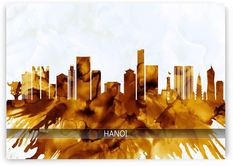 Hanoi Vietnam Skyline by Towseef Dar
