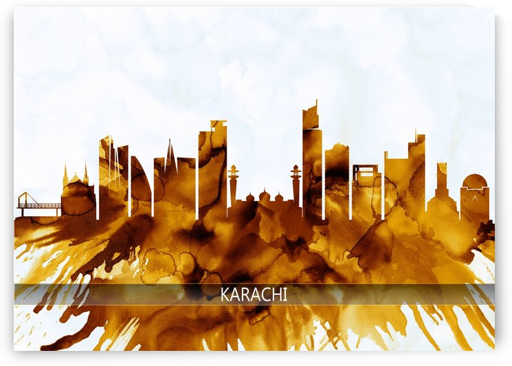 Karachi Pakistan Skyline by Towseef Dar
