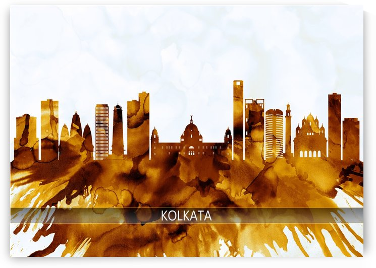 Kolkata West Bengal Skyline by Towseef Dar