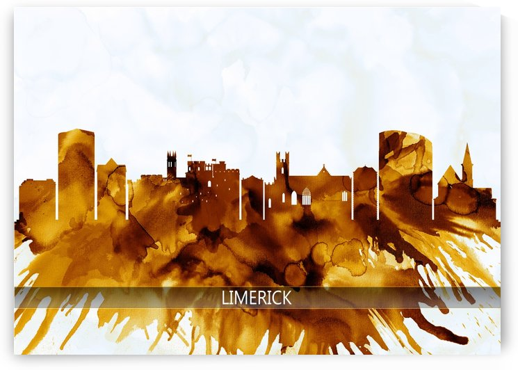 Limerick Ireland Skyline by Towseef