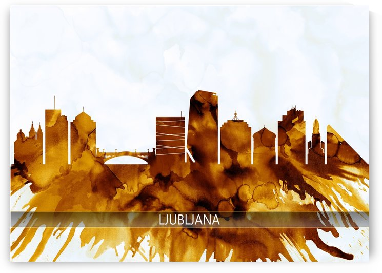 Ljubljana Skyline by Towseef