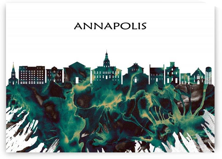 Annapolis Skyline by Towseef Dar