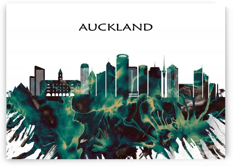 Auckland Skyline by Towseef Dar