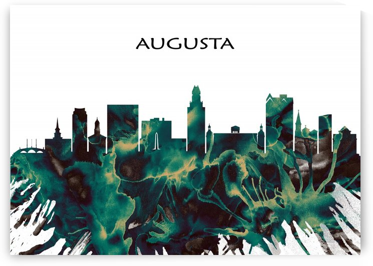 Augusta Skyline by Towseef Dar