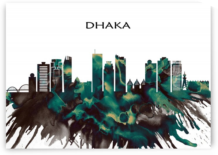 Dhaka Skyline by Towseef Dar
