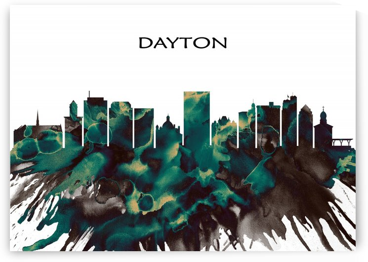 Dayton Skyline by Towseef Dar