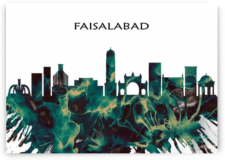 Faisalabad Skyline by Towseef Dar