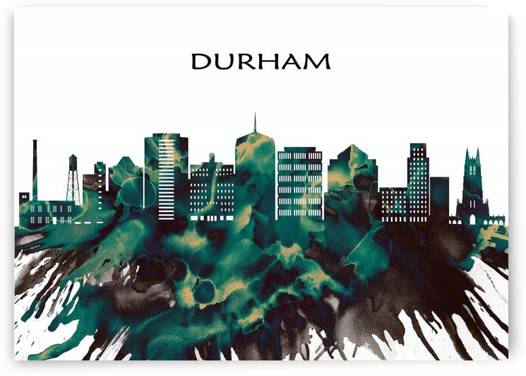 Durham Skyline by Towseef Dar